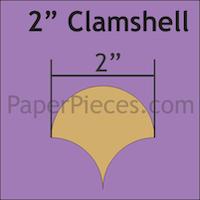 Clamshells - 2 inch