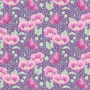 Tilda Gardenlife-Poppies Lilac