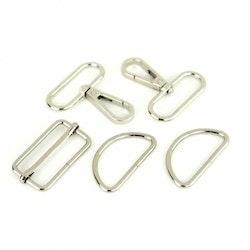 Basic Hardware Set 1-1/2in Nickel