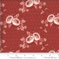 Roselyn Morning Glory Warm Red
