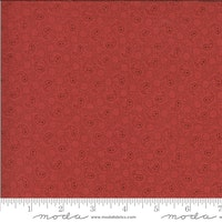 Roselyn Paisley Warm Red