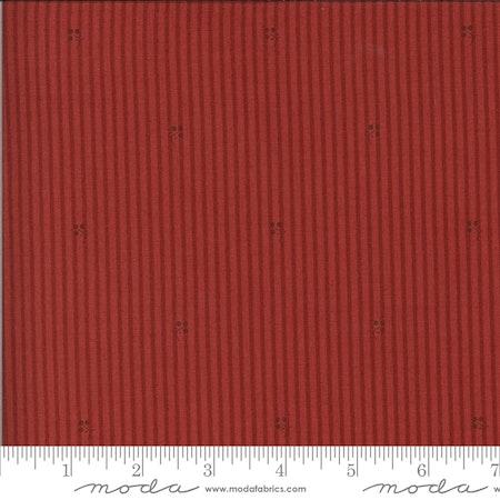 Roselyn Stripe Warm Red