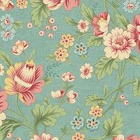 The Seamstress-Turquoise  Dahlia