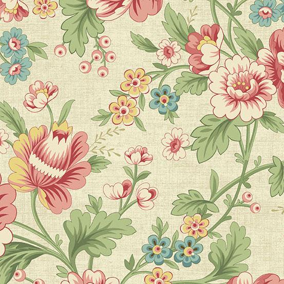 The Seamstress-Parchment Pattern: Dahlia