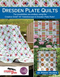 Dresden Plate Quilts- 3 forskjellige varianter av Dresden Plate
