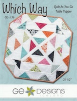 Which Way Quilt As You Go Table Topper