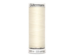 Gütermann 01 - kremhvit 200m