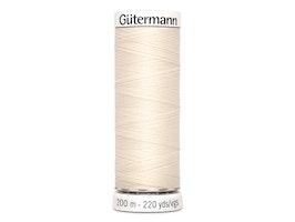Gütermann 802-krem, 200m