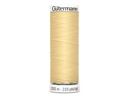 Gütermann 325 lys gul, 200m