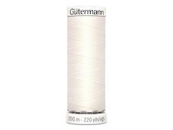Gütermann 111 melkehvit, 200m