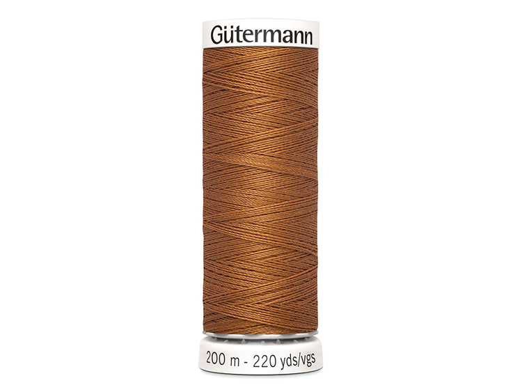 Gütermann 448 brun, 200 m