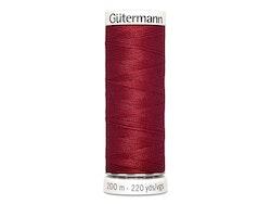 Gütermann 369 burgunder, 200 m