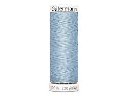 Gütermann 75 lys blå, 200m