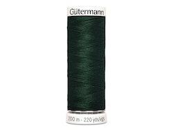 Gütermann 472 mørk grønn, 200 m