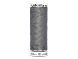 Gütermann 496 grå, 200 m
