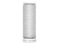 Gütermann 8 lys grå, 200 m