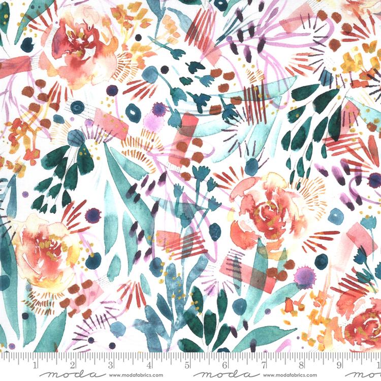 Sunshine Soul Cool Breeze- hvit med blomster