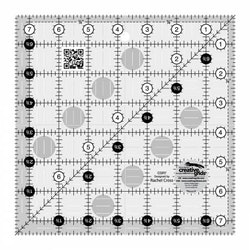 Creative Grids Quilt Ruler 7-1/2in Square