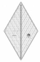 Non-Slip 60gr. Diamond linjal-stor