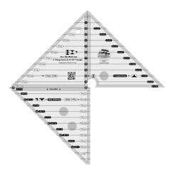 Creative Grids 6in Flying Geese & 45 90 Degree Triangle Quilt Ruler