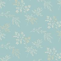 BlueBird-  Light Blue Sprigs
