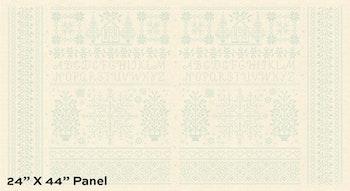 BlueBird- Panel 60 cm, Linen Homestead