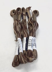 Farge 9012-Cosmo Seasons Variegated Embroidery Floss