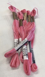 Farge 8008-Cosmo Seasons Variegated Embroidery Floss