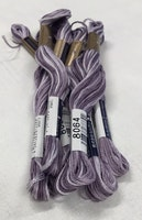 Farge 8064-Cosmo Seasons Variegated Embroidery Floss Purples