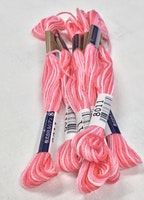 Farge 8011-Cosmo Seasons Variegated Embroidery Floss Pinks