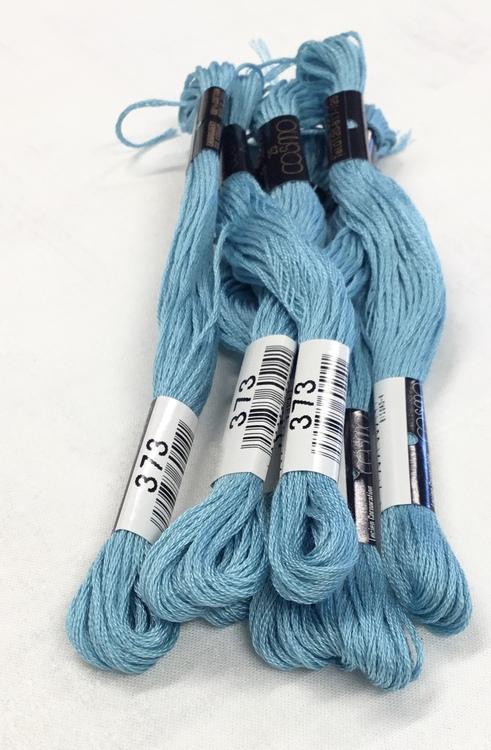 farge 373-Cosmo Cotton Embroidery Floss 8m Skein Light Feldspar