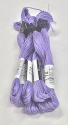 Farge 174-Cosmo Cotton Embroidery Floss 8m Skein Ultra Violet