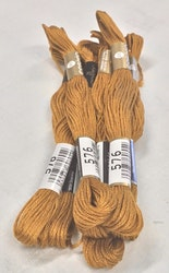 Farge 576-Cosmo Cotton Embroidery Floss 8m Skein Deep Brownish Olive