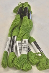 Farge 272-Cosmo Cotton Embroidery Floss 8m Skein Vivid Yellowish Green