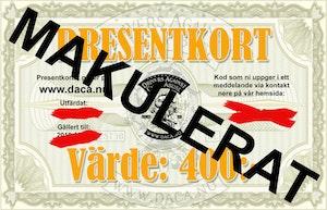 """Presentkort """"Lilla"""" i vår webshop"""