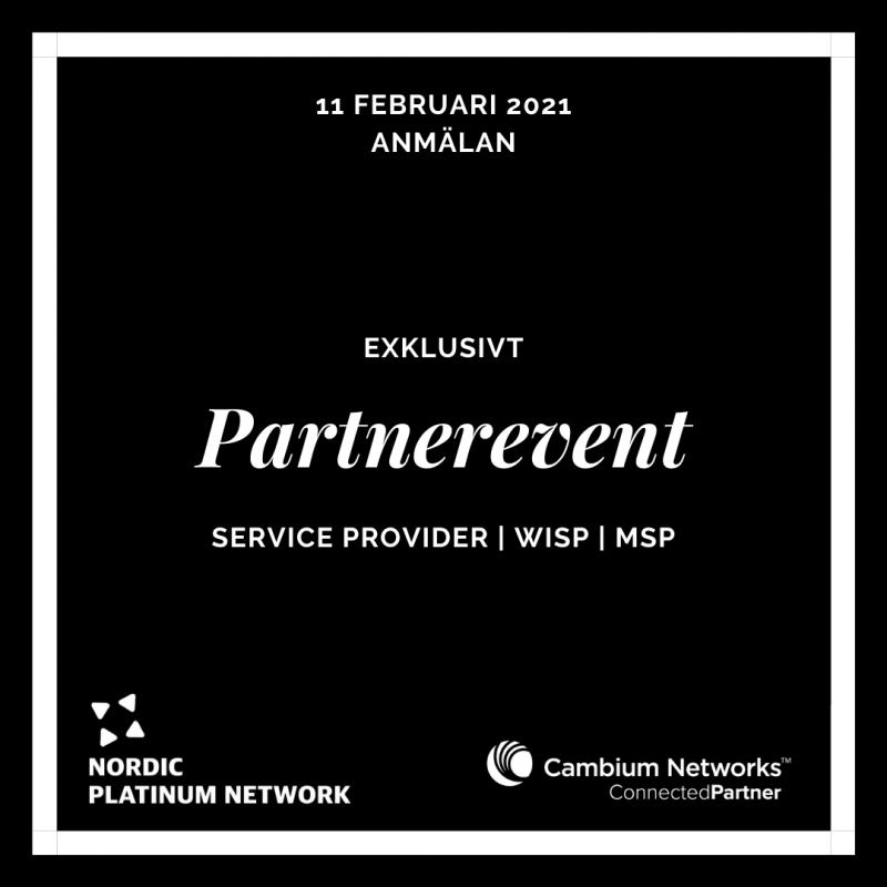Partnerevent 11 februari 2021