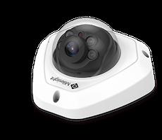 H.265+ Vandal-proof Mini Dome Network Camera