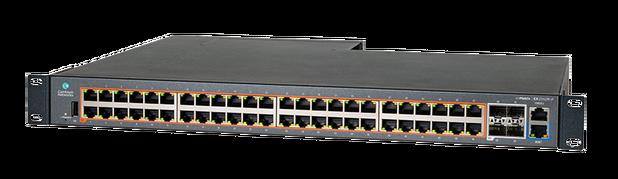 cnMatrix EX2052R-P 48-portar PoE+-switch för för DC- eller AC-strömförsöjning