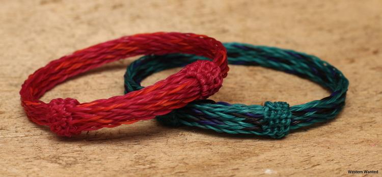 Olivia & Oliver Horsehair Western Bracelet- 3 strand