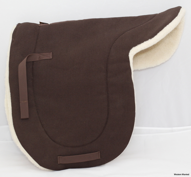 English Pad Dressage Herculon 100% lambsWool