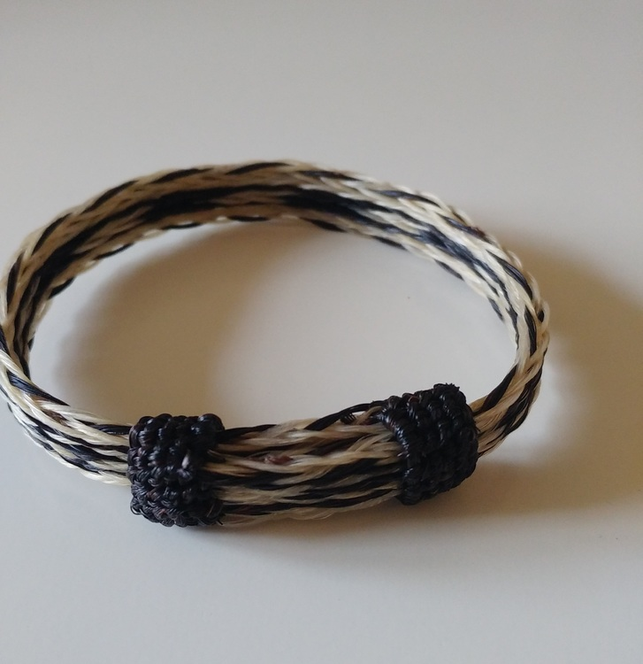 Horse Hair Western Bracelet- 5 strand