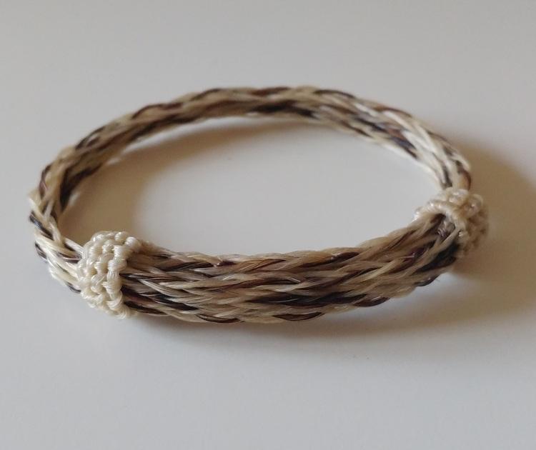 Horse Hair Western Bracelet- 3 strand