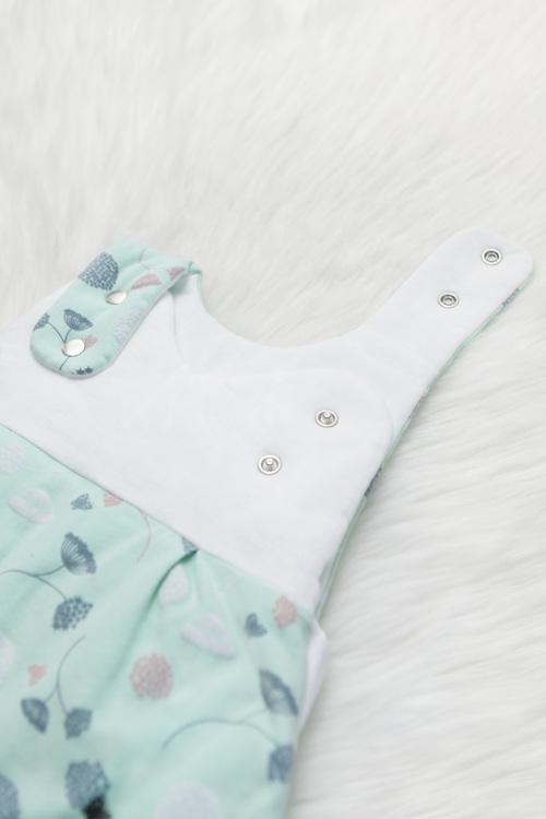 Organic baby sleeping bag - Marine Essential