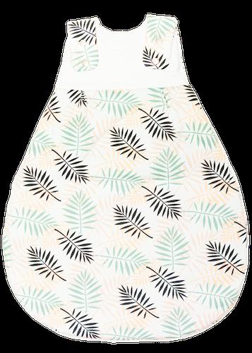 Organic baby sleeping bag - Palm Leaves