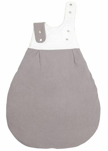 Organic baby sleeping bag - Graphite Essential