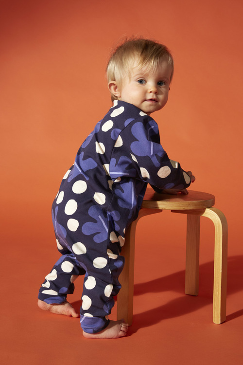 Buu baby jumpsuit White berry