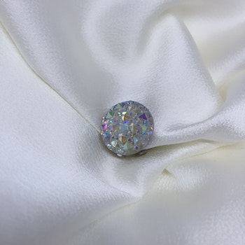 Magnet - Diamond silver