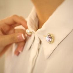 GLAMOUR - brosch/ hijab nål