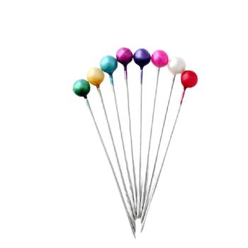 Färgmix hijab nålar 20st - 37mm