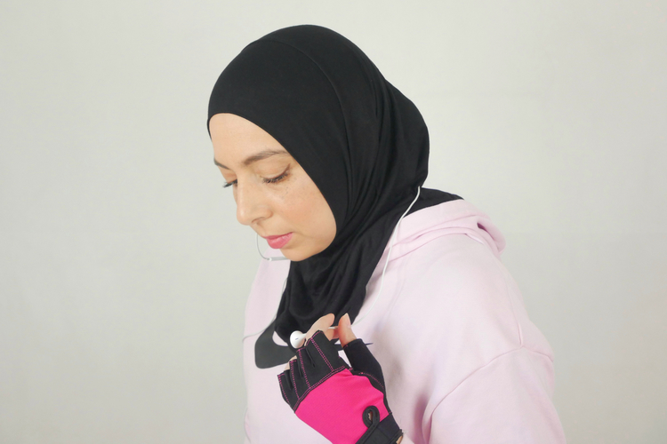 Bekväm sport hijab som är anpassad för din vardag